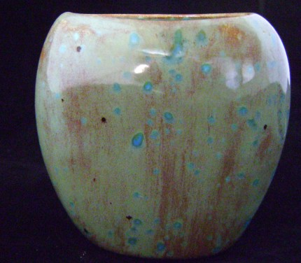Mini Pinch Vase - Teal Blue Moon